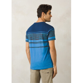 Prana Throttle SS Crew Men future blue